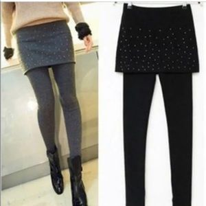 NWT Leggings with Pencil Skirt